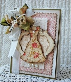 #scrapbooking #tarjetas #vestidos #felicitaciones