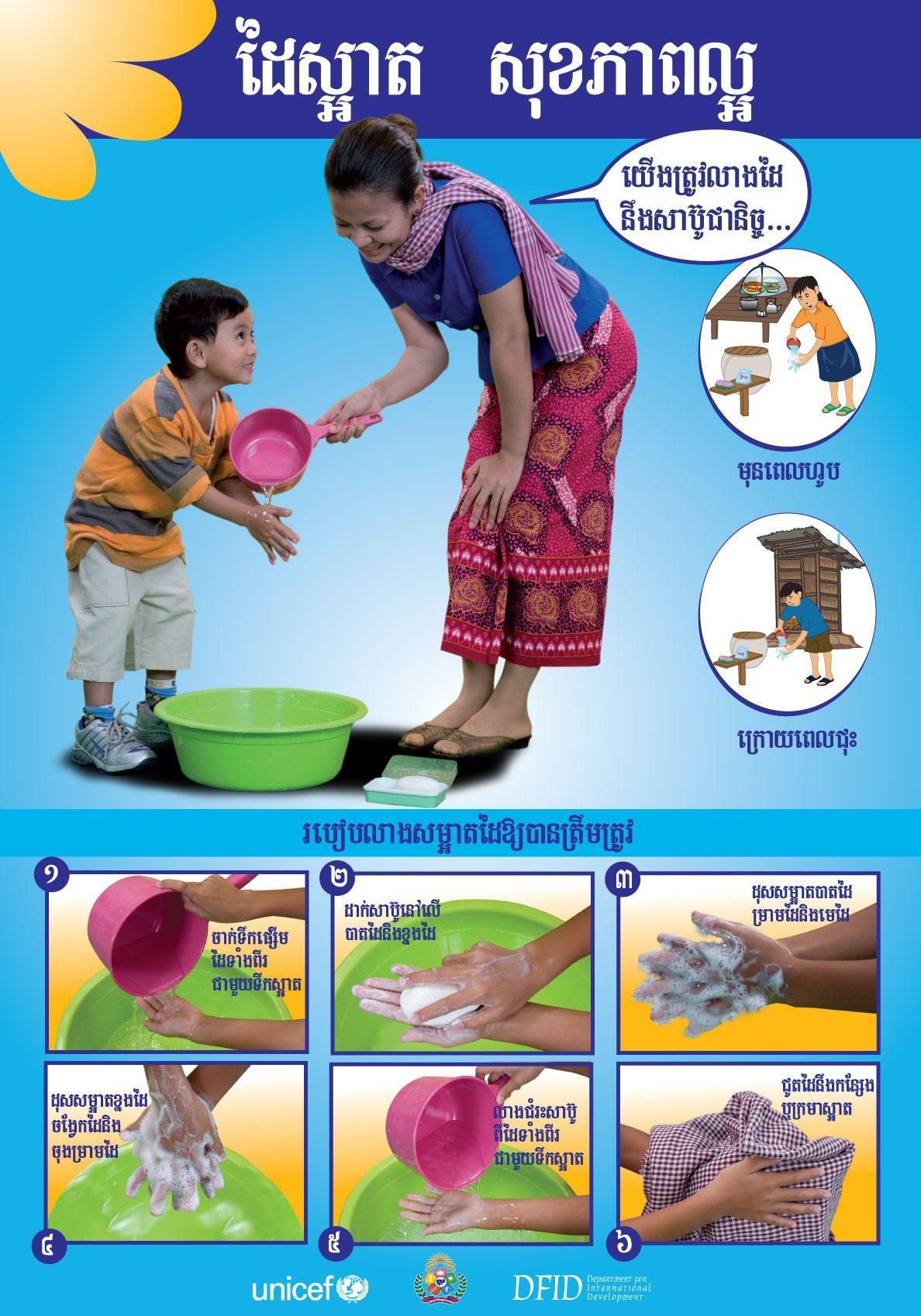 Handwashing In Cambodia Unicef