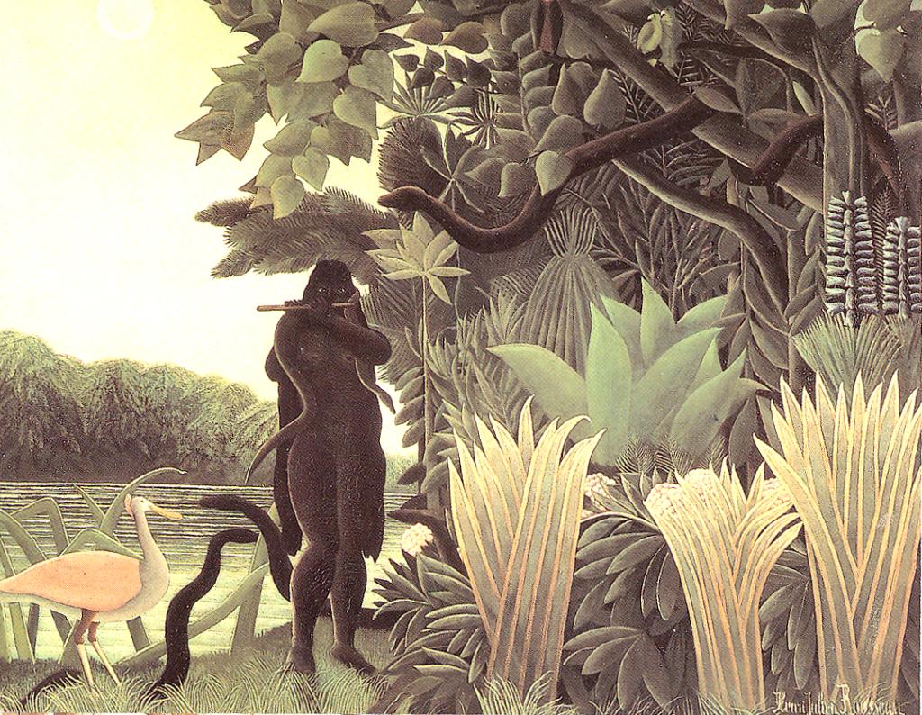 Henri Rousseau - La Charmeuse de serpents