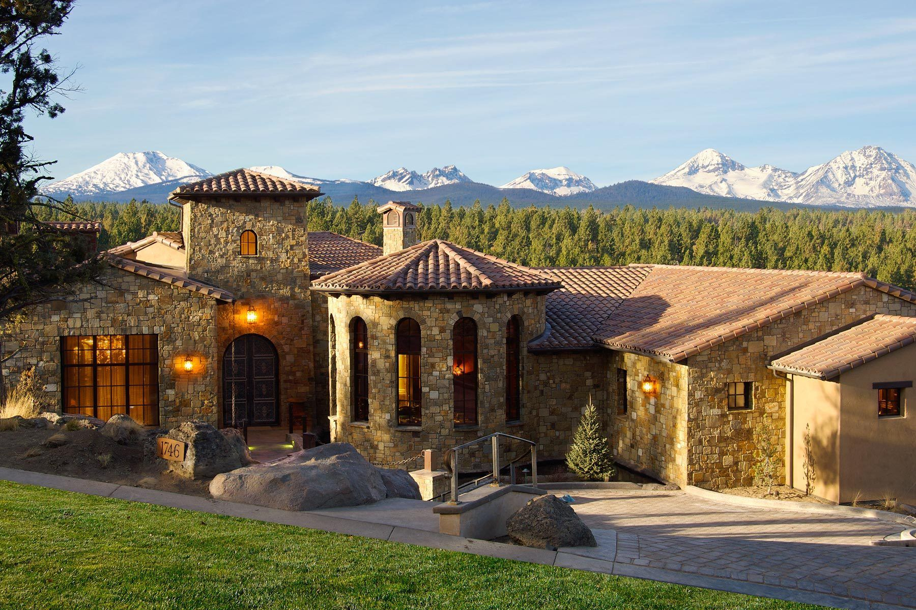 Tuscan Style Homes Plans Toscana House