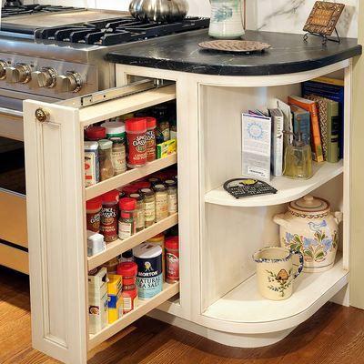 armario para las especias cocina organizacin orden mueble ideas