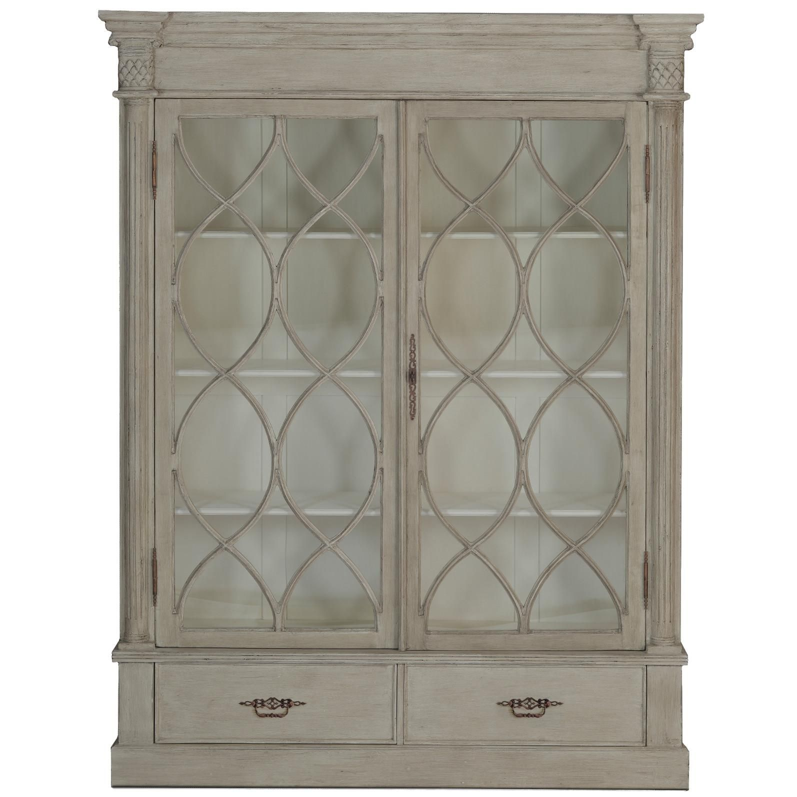 I Large French Farmhouse Style China Cabinet Features Plenty Of  # Muebles Liz Sears