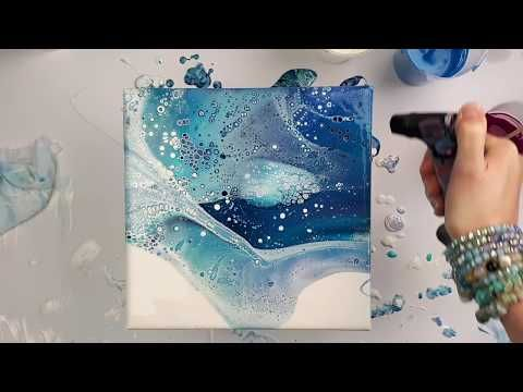 how to make up acrylic pouring