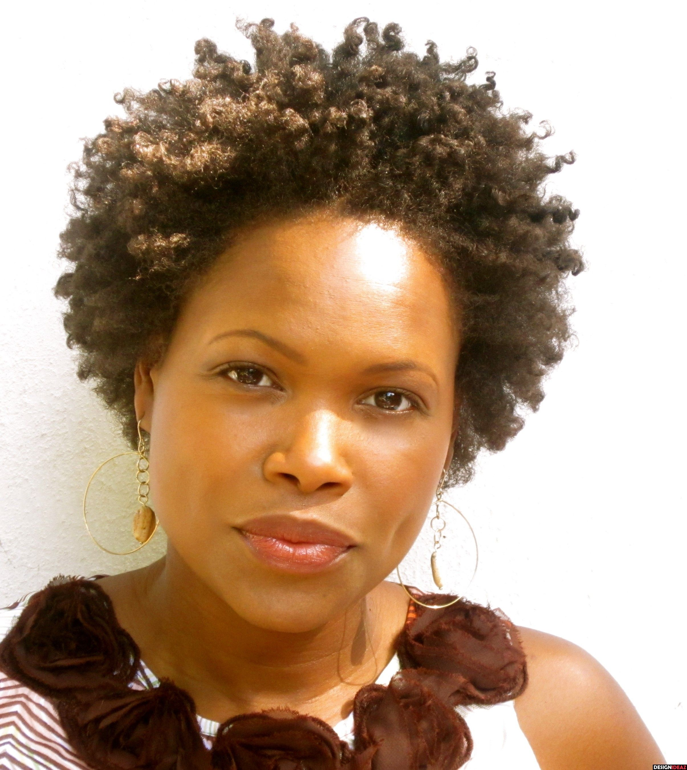 Quick Hairstyles For Short Natural African American Hair 10 Noticeable African American Natural Afro Short Hairstyles4