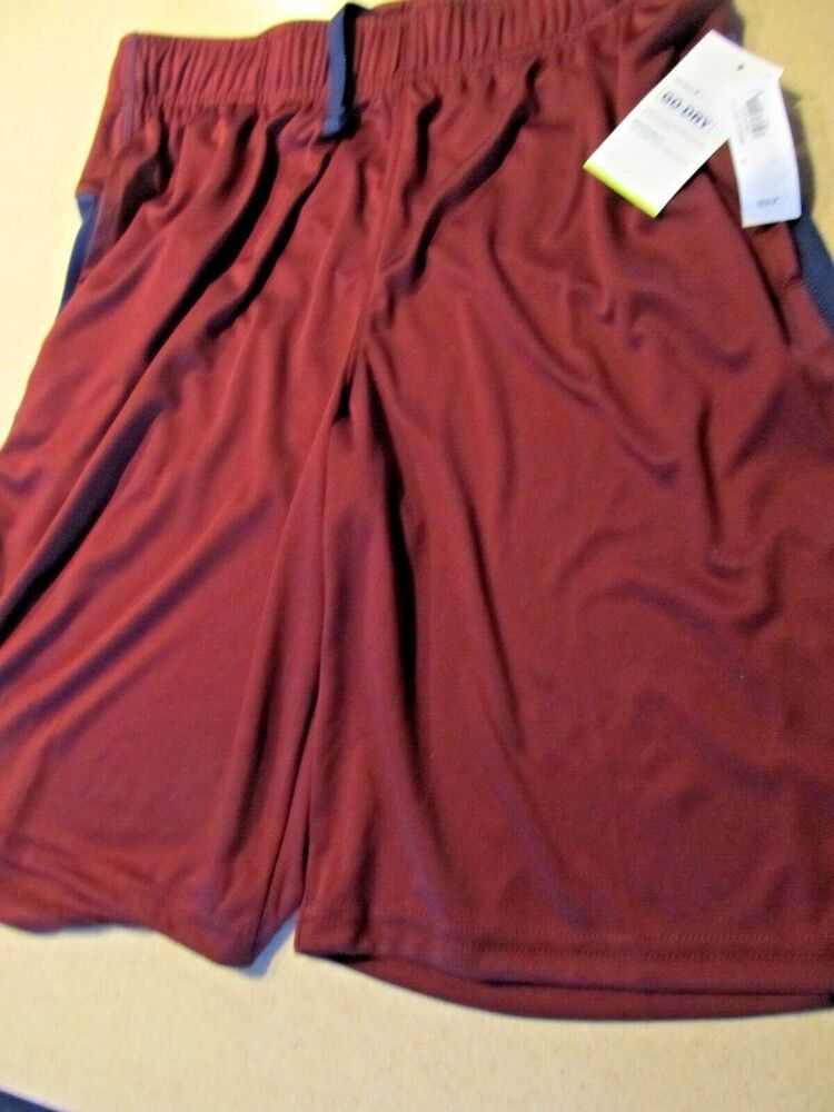 a1dc00824f (eBay Sponsored) NWT Old Navy Active Wear Go Dry shorts knit maroon athletic  Mens