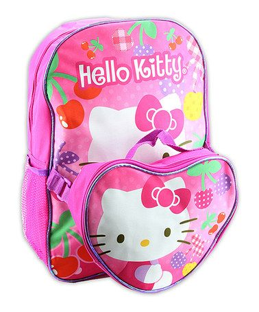 cd72e740b This Pink Hello Kitty Backpack & Lunch Box is perfect! #zulilyfinds ...