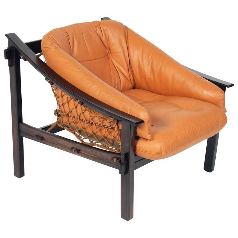Phenomenal Exotic Jacaranda And Leather Brazilian Lounge Chair By Jean Ibusinesslaw Wood Chair Design Ideas Ibusinesslaworg