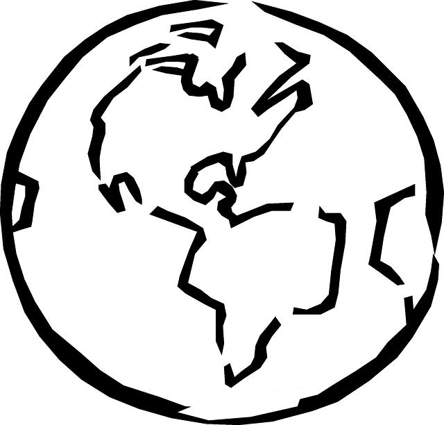 Free Image On Pixabay Globe World Planet Earth Sketch Earth Sketch Sketch Free World Outline