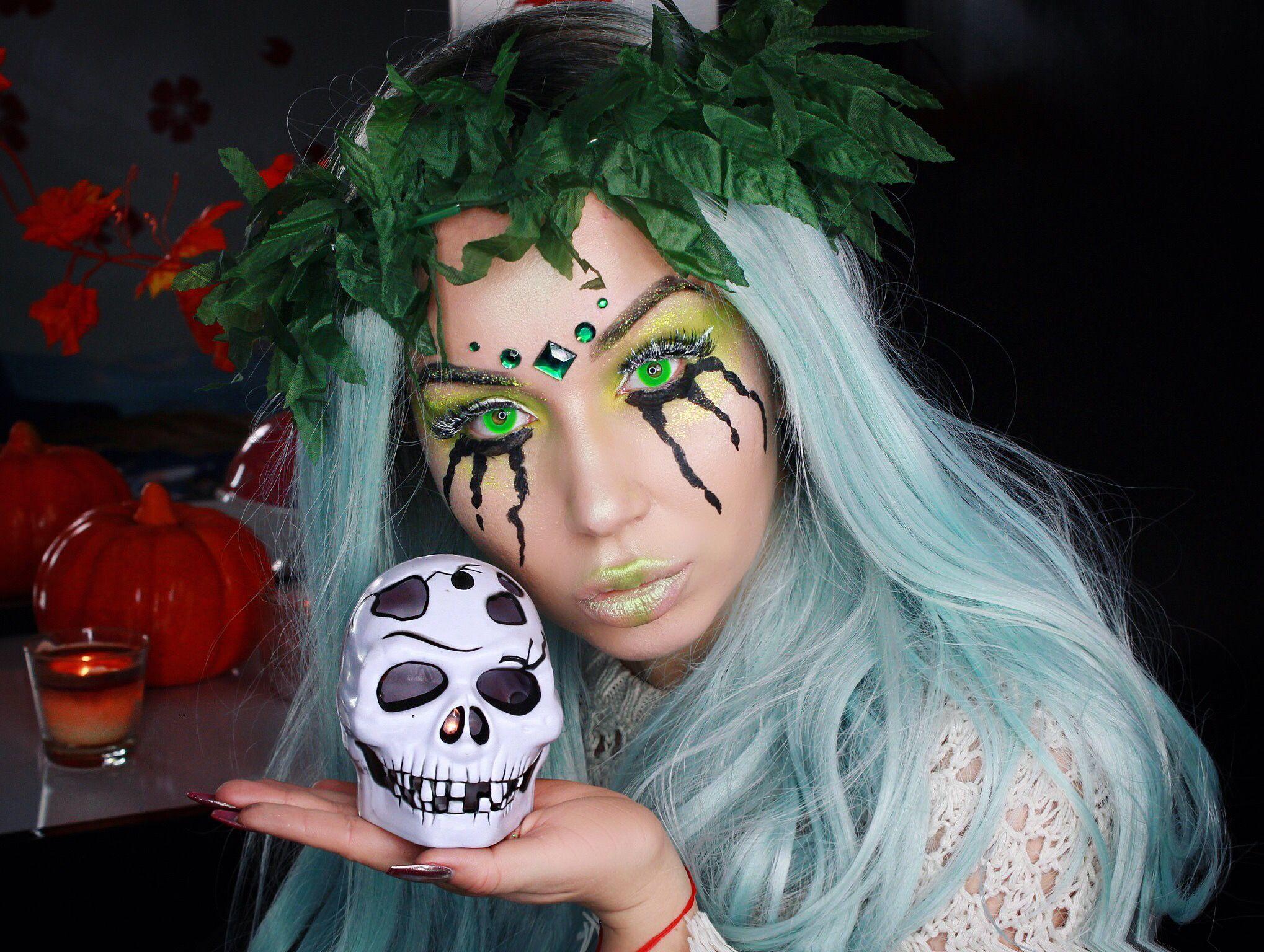 Good witch halloween makeup costume Tutorial: https://youtu.be ...