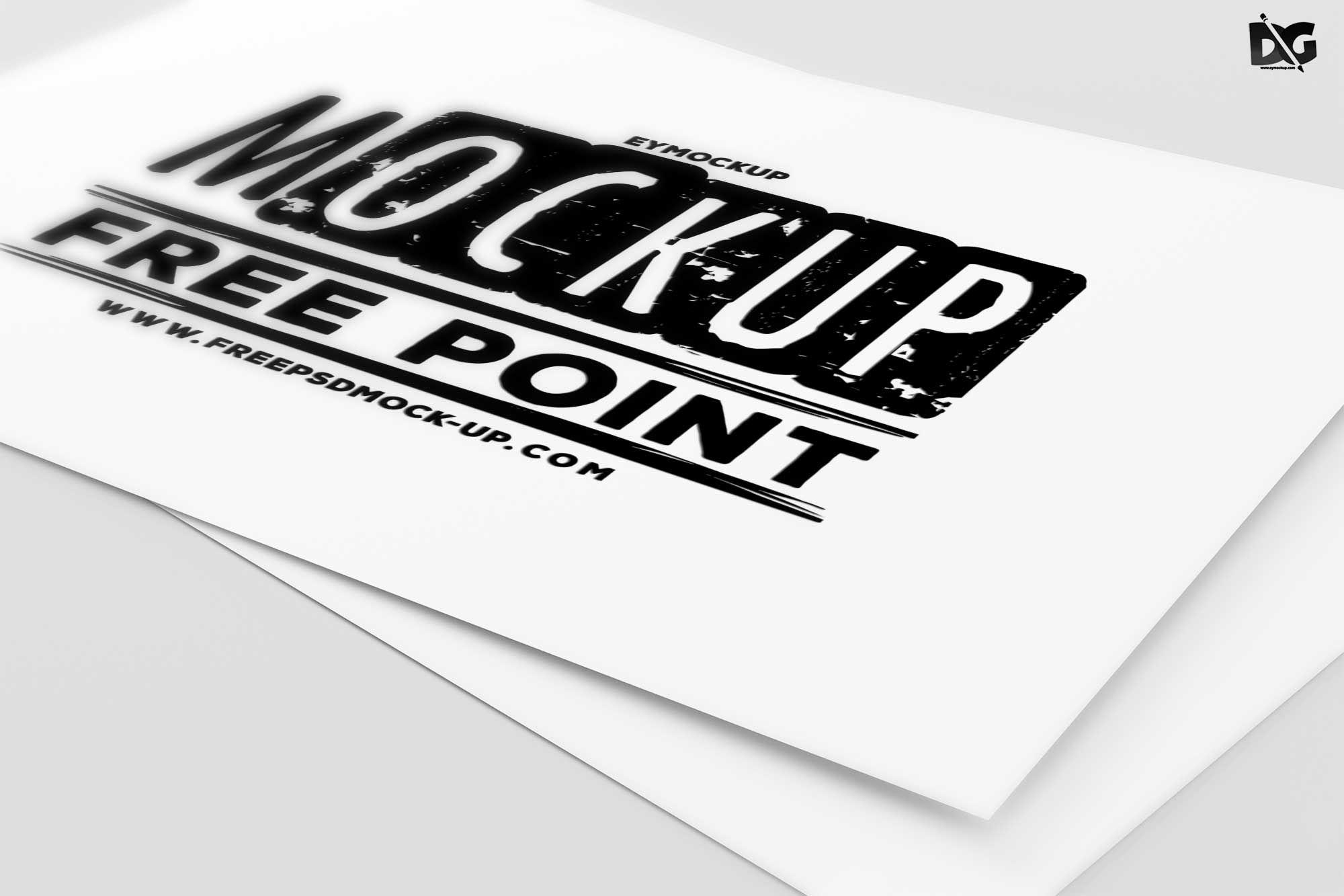 Free PSD Business Card Logo Mockup Business card psd