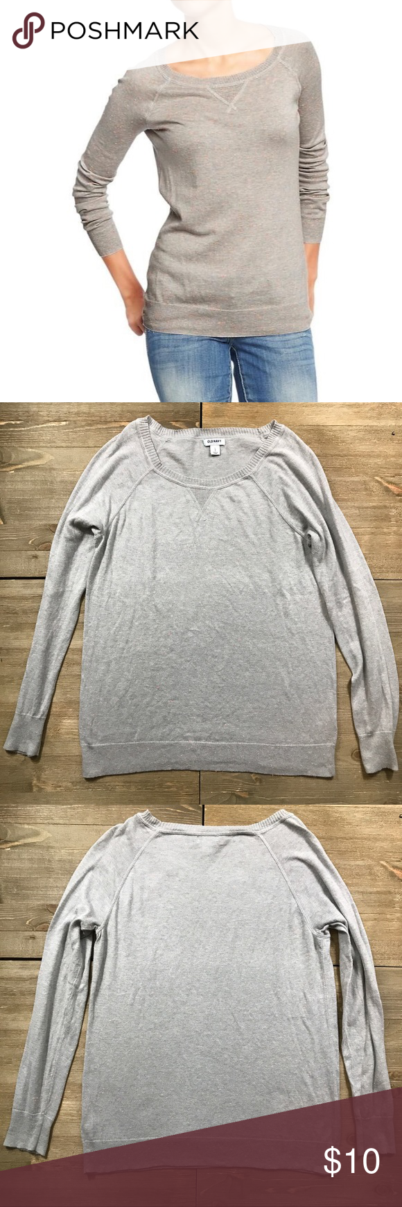 🐿 Old Navy Confetti Sweater | Crew neck sweaters, Confetti and ...