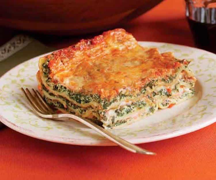 Recette lasagnes ricotta épinards ww – votre dîner à 6 SP.