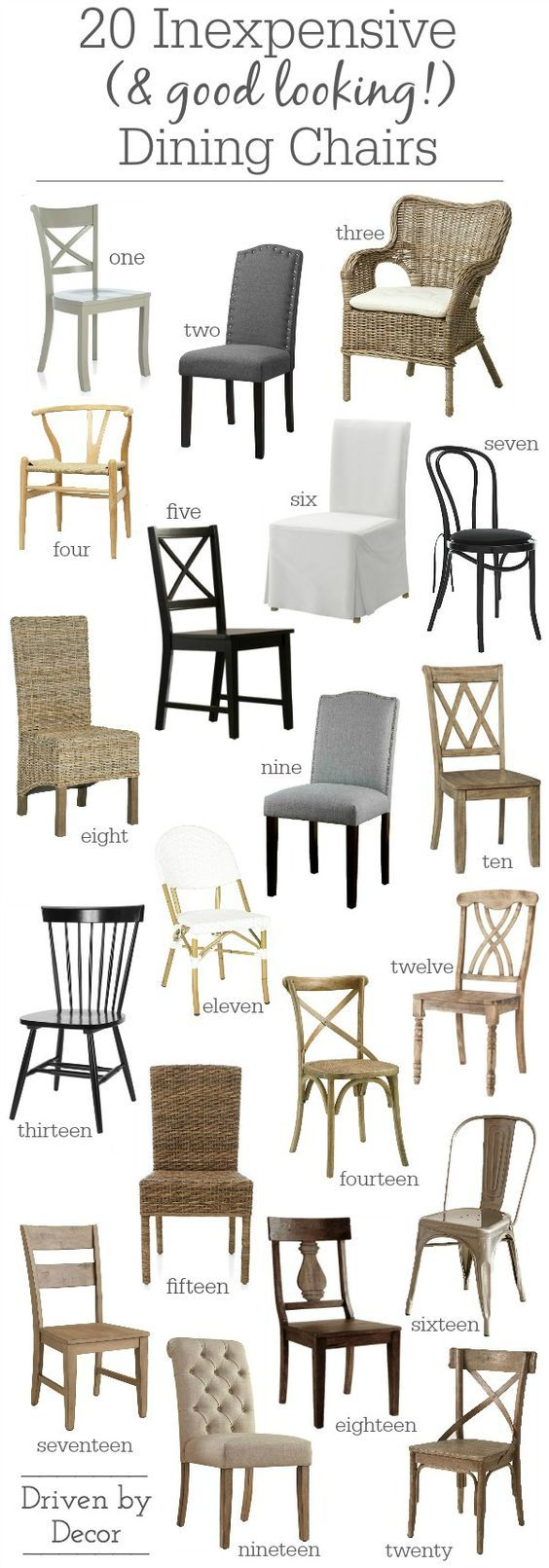 Beau 15 Inexpensive Dining Chairs (That Donu0027t Look Cheap!) | Good ...