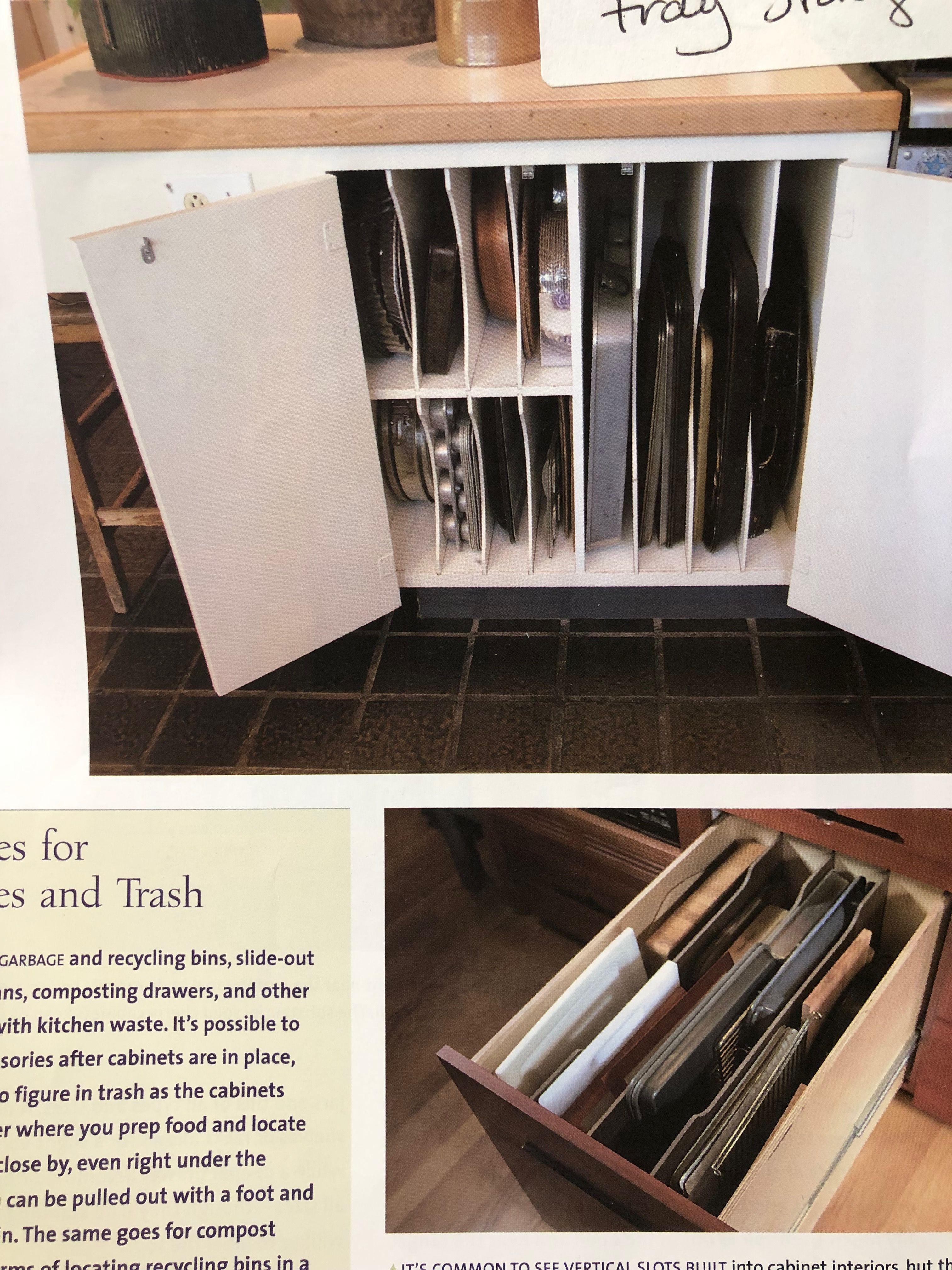 Pin By Josette Schwartz On Kitchen Cabinets Garbage Recycling Kitchen Waste Bins