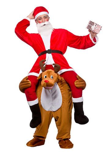 Christmas Fancy Dress Funny.Details About Carry Me Ride On Adults Fancy Dress Animal Fun