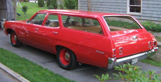 1970 Chevy Townsman Wagon Station Wagon Wagon Weird Cars