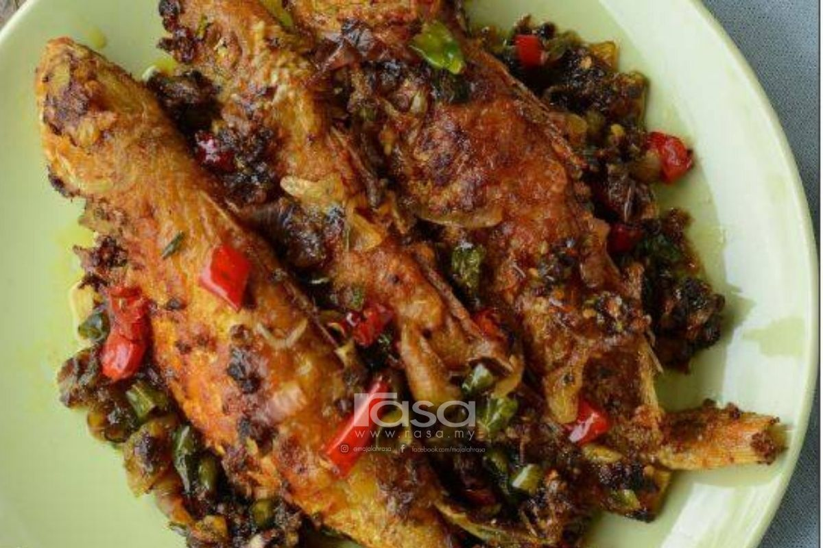 aneka resepi ikan kerisi hybrid art Resepi Ikan Kembung Rebus Masak Lemak Enak dan Mudah