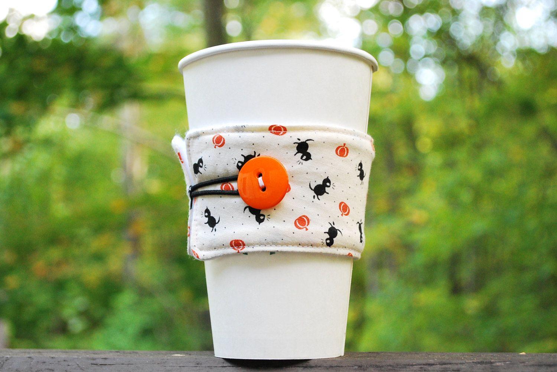 Coffee Cup Sleeve TOGO Halloween Cuteness! by