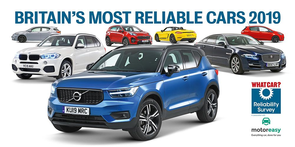 Hybrid models are UK's most reliable vehicles Best