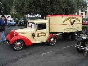 Old Semi Trucks Side View