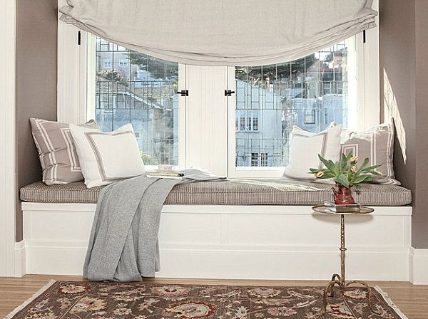 Bay Window Seats for the Modern Home | Bedroom storage, Window and ...