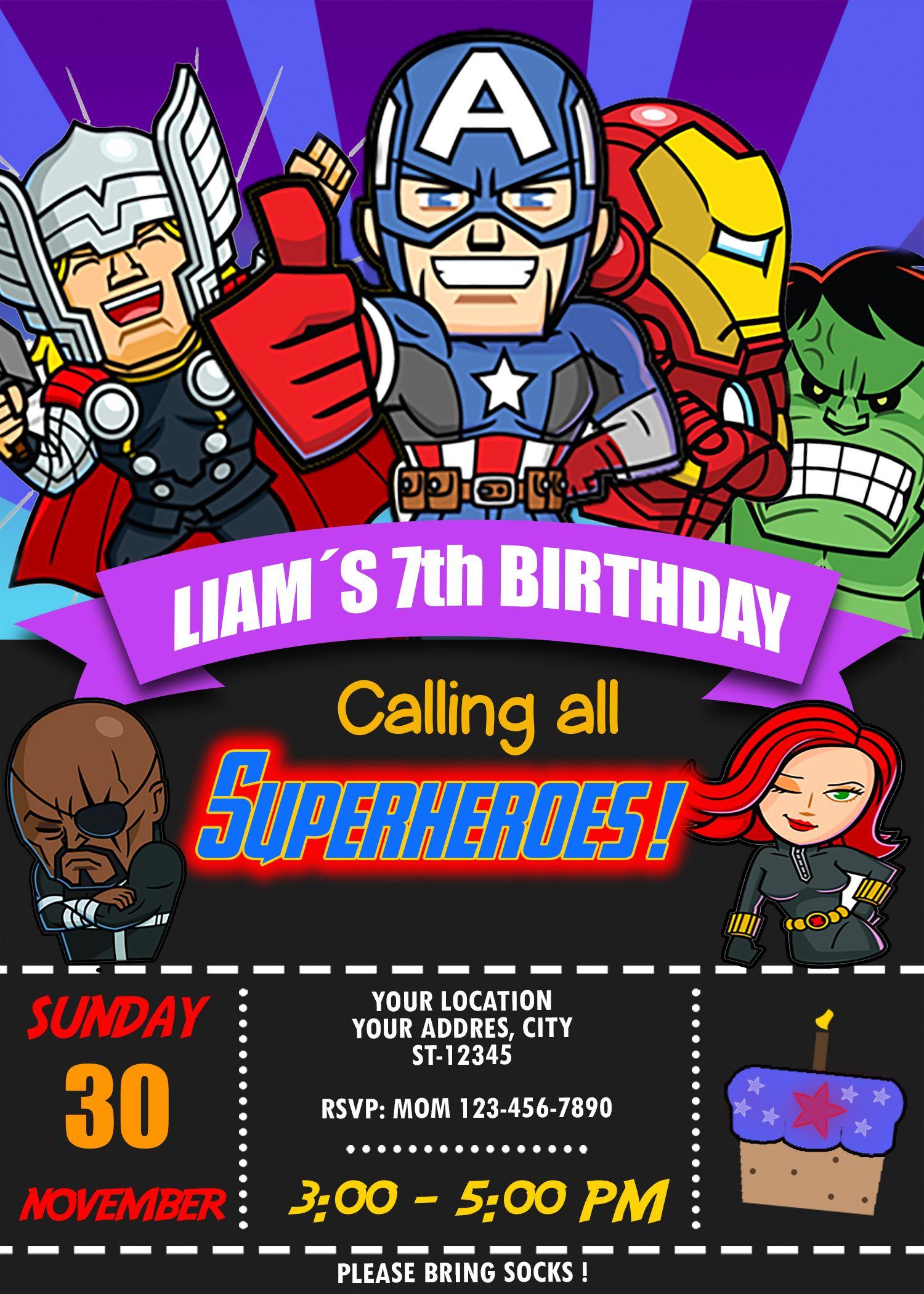 marvel super hero adventures birthday