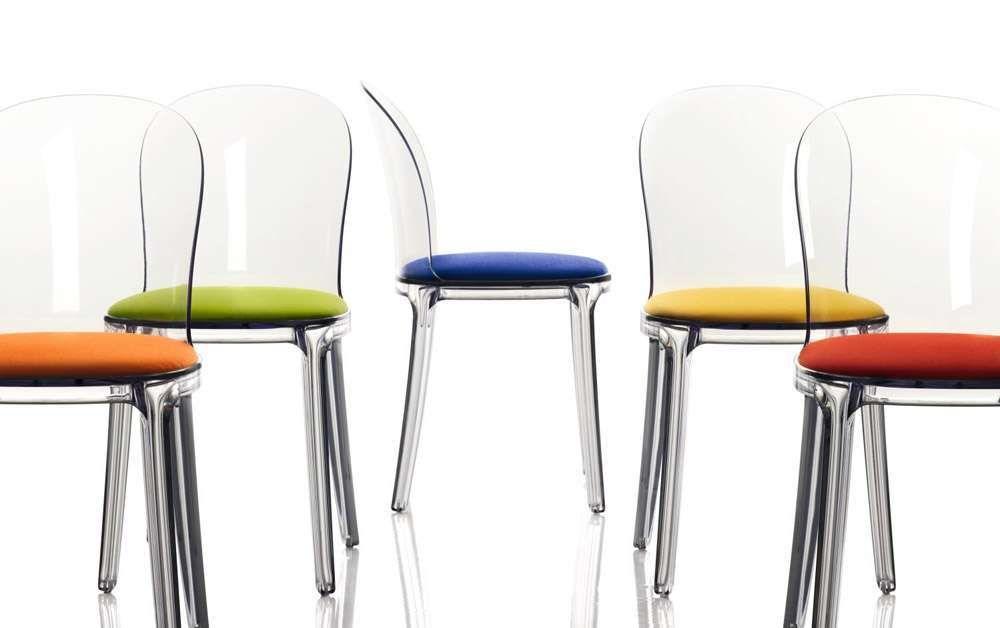 Sedie trasparenti: le proposte del 2017 per gli interni di ...