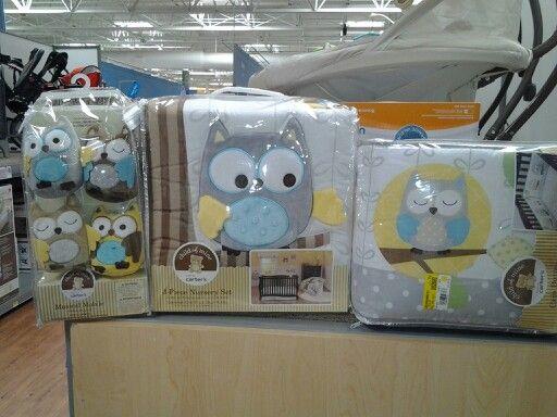 Walmart Child Of Mine Owl Crib Set Nursery Makeover Owl Bedding