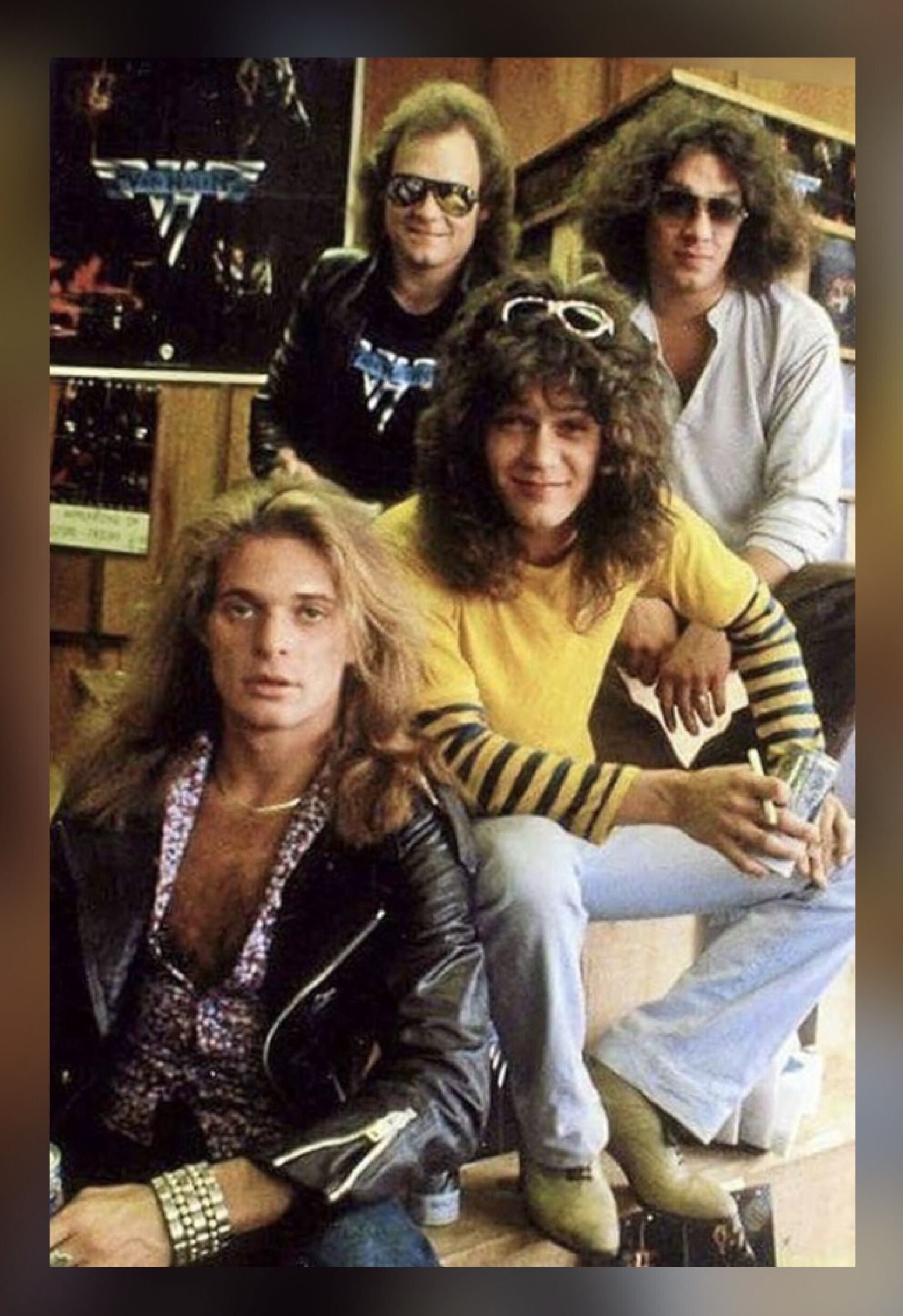 Pin By Renee Cort On Memories Van Halen Rock Music Halen