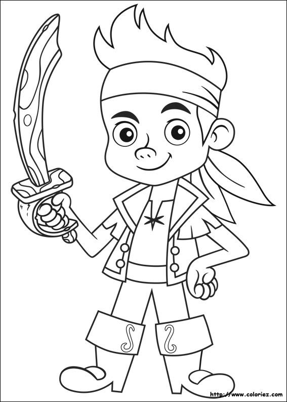 coloriage a imprimer pirate