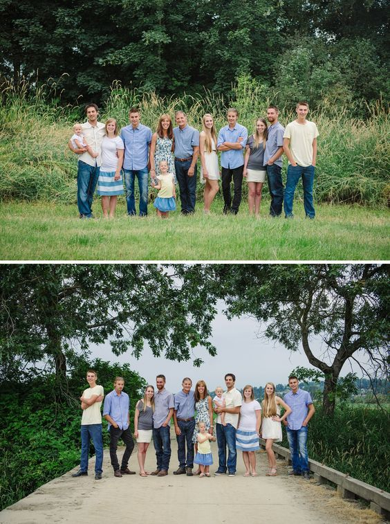 Large Family Photos Extended What To Wear Your Photo Session Abbotsford Photographer