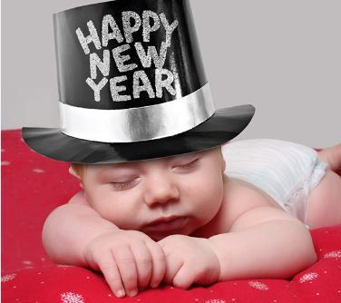 New Year S No Spins Happy New Year Baby Baby New Year Happy New Year