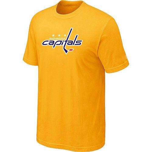 NHL Washington Capitals Big & Tall Logo T-Shirt - Yellow