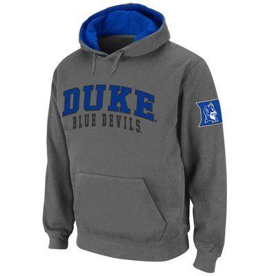 huge discount 68027 7c67d Duke Blue Devils Double Arches Pullover Hoodie - Charcoal ...