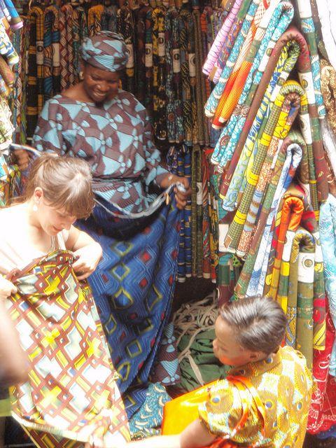 bc43e6bd82b Balogun Market on Lagos Island Lagos Nigeria