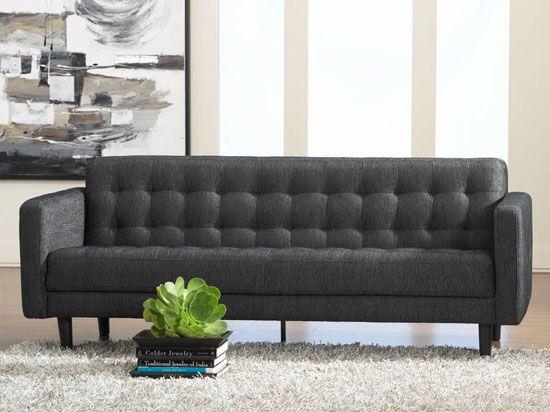 Bloom Sofa Anthracite 81x31 5x31 5