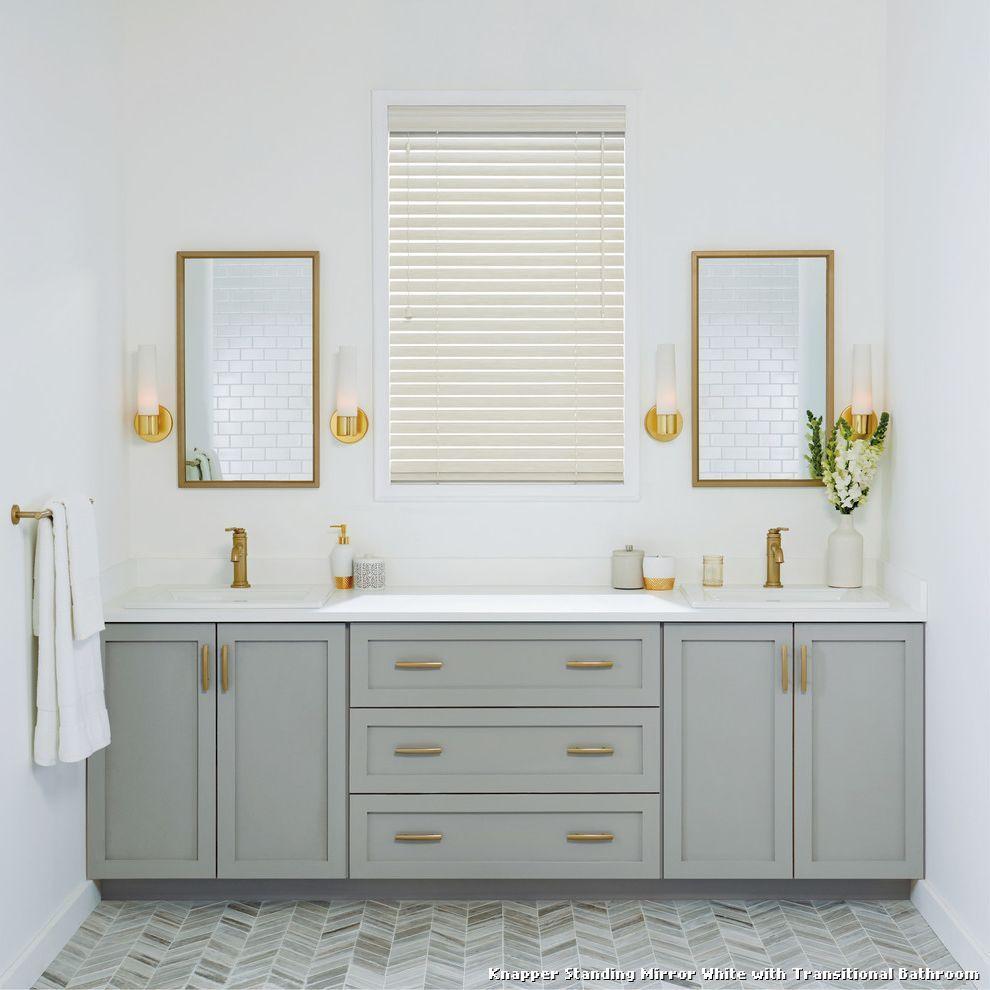 Knapper Standing Mirror White | Tablecloth | Pinterest | White full ...
