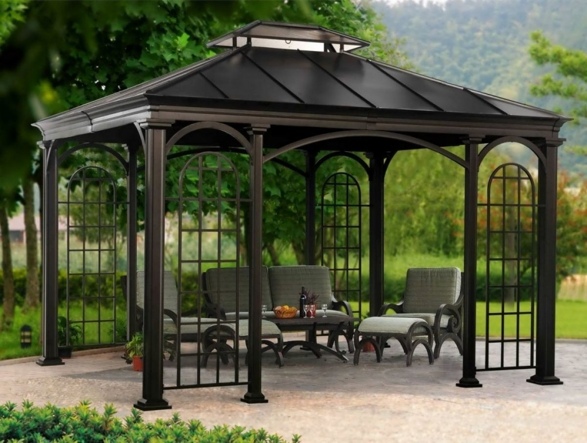 Large Metal Gazebos For Sale Gazebo Ideas Garden