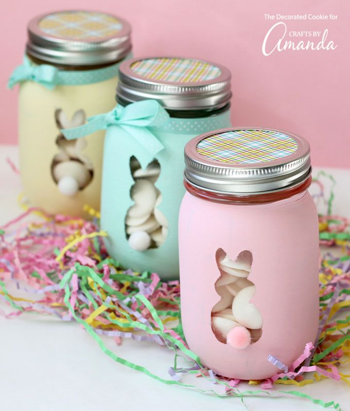 27 DIY Mason Jars That Will Say HELLO Spring - The Cottage Market