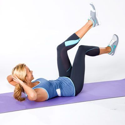 #abs  #flatbelly  #fitness | Health.com #your #core  Work your core with this Double-Heel Windmill C...