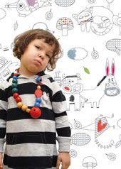 Lé de papier-peint à colorier Zoz par Emilie Lapeyre $45 #LesContemplatives #enfants #deco #papierpeint #wallpaper #child #kids