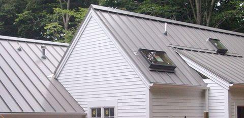 Metal Roofing Vs Asphalt Shingles The Sietch Blog Corrugated Metal Roof Standing Seam Metal Roof Metal Roof