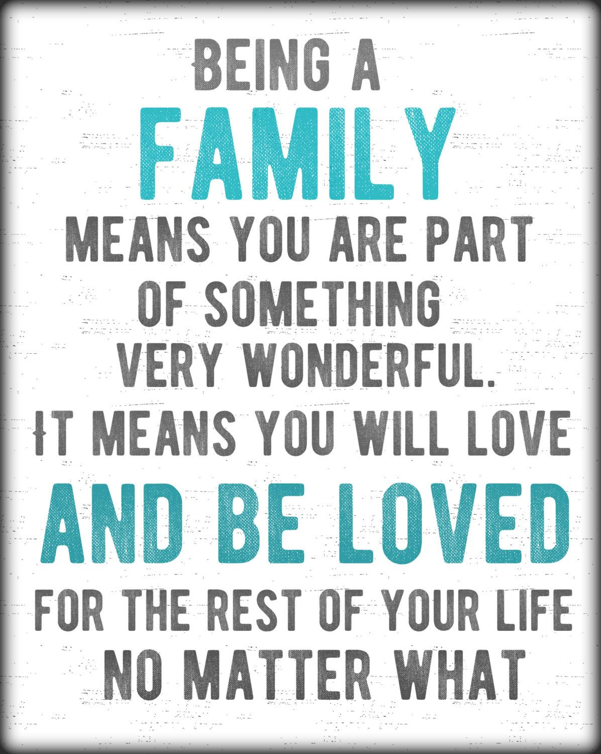 11x14 Being A Family Subway Art Instant Digital Download Family Love Quotes Family Quotes Relationships Blended Family Quotes