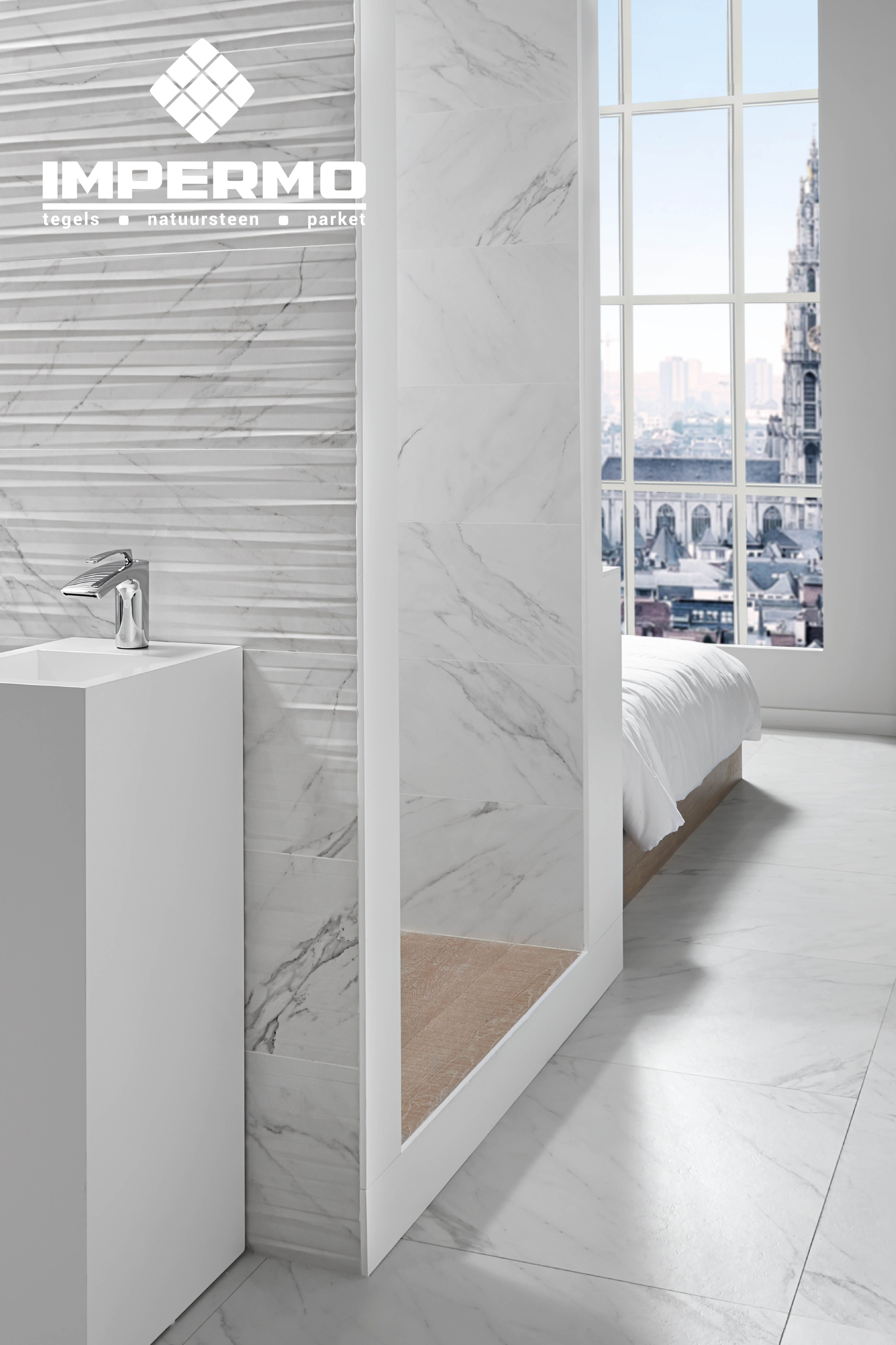 Badkamer Marmer Tegels.Tilestone Marble White In 2019 Impermo Bathroom Badkamer