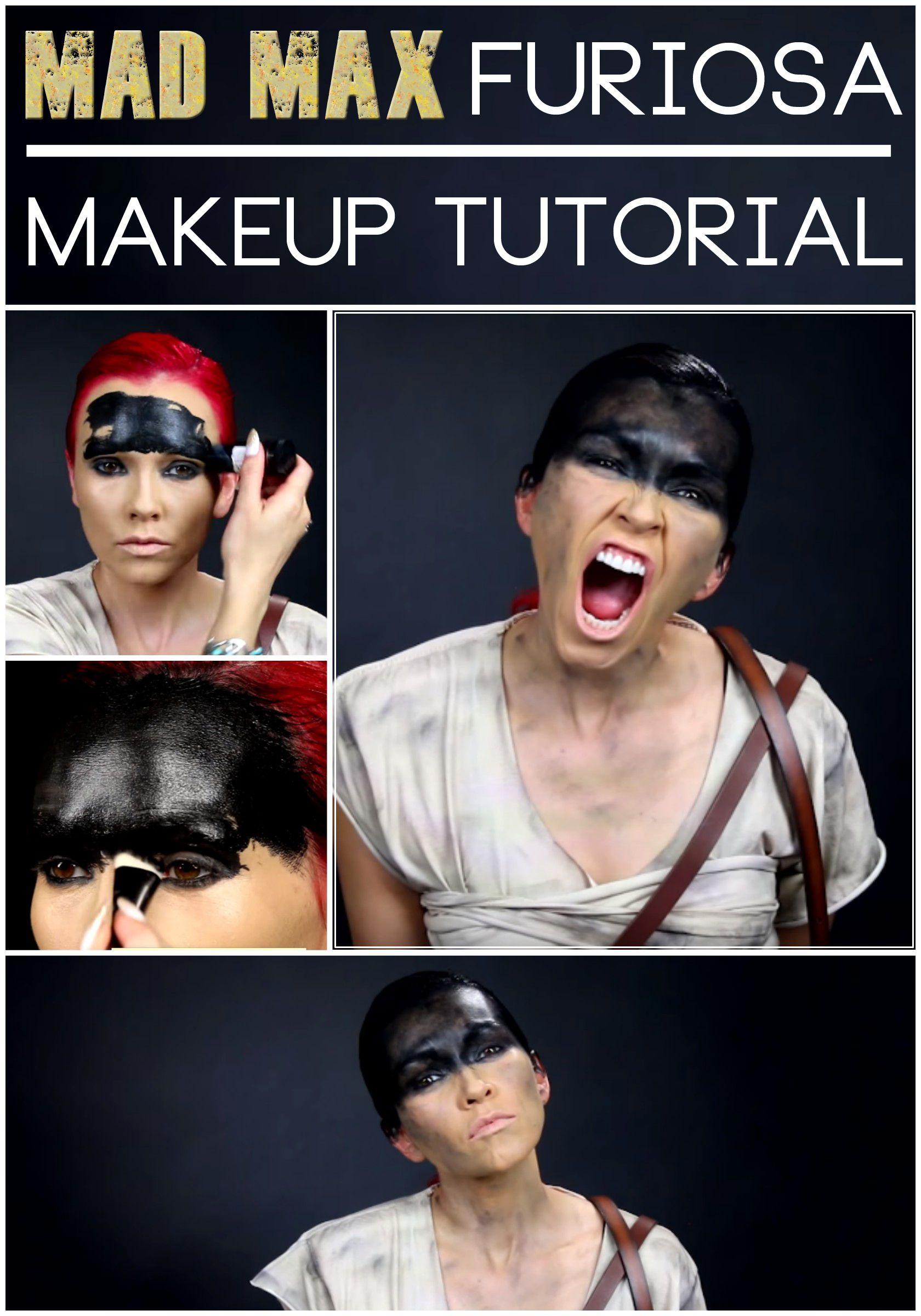 """Mad Max"" Furiosa Makeup Tutorial with Kandee Johnson"