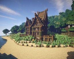 Verlassenes Haus Durch MrBatou Mittelalter Minecraft Ideas - Minecraft mittelalter haus map