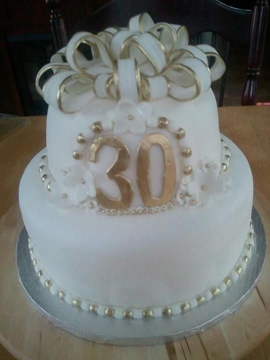 30th anniversary cake!! Our 30th June 10th, 2013.