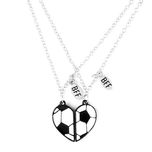 Do you and your bestie 3 soccer this pendant necklace is for you do you and your bestie 3 soccer this pendant necklace is for you mozeypictures Image collections
