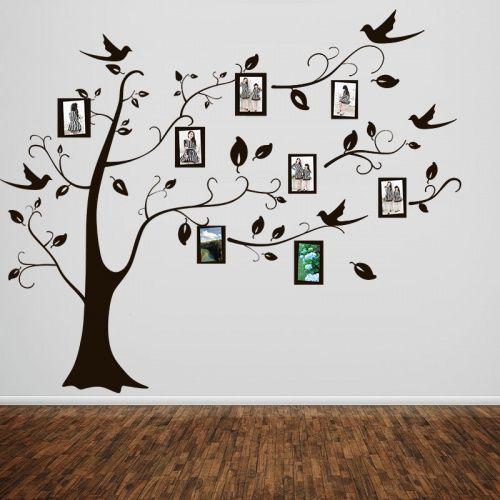 b0851e588 Adesivo de parede Árvore Porta Retratos