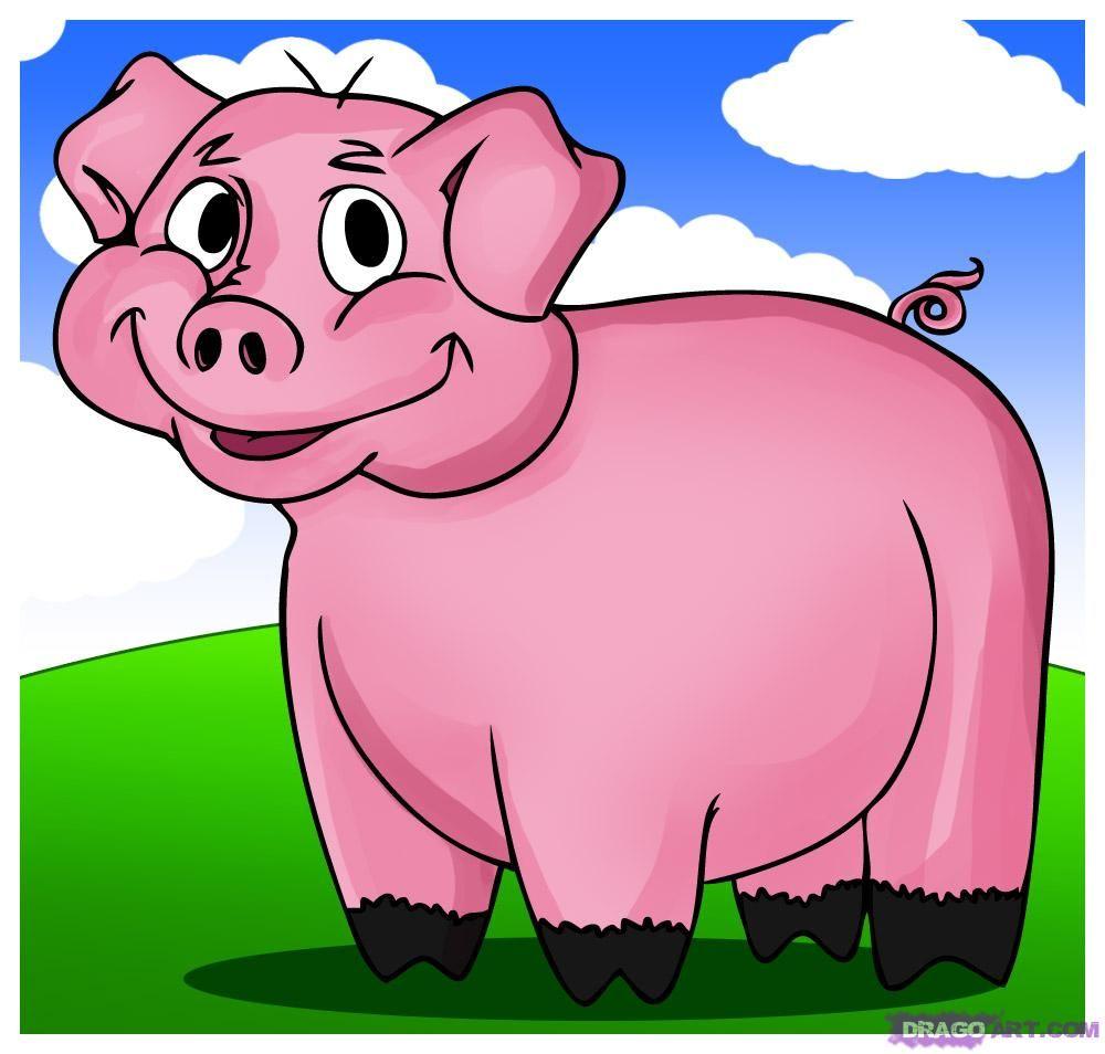 El Cerdo Y Las Naranjas Luis David Gamonal Suarez Cerditos Dibujar Caricaturas Dibujos Animados